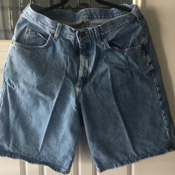 Lee denim shorts!